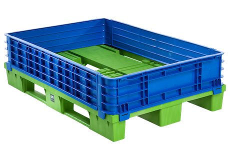 Pallet collar 1200x800x185 mm ip group for Ipg pool show