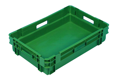 Plastic Crate solid 600x400x140 mm